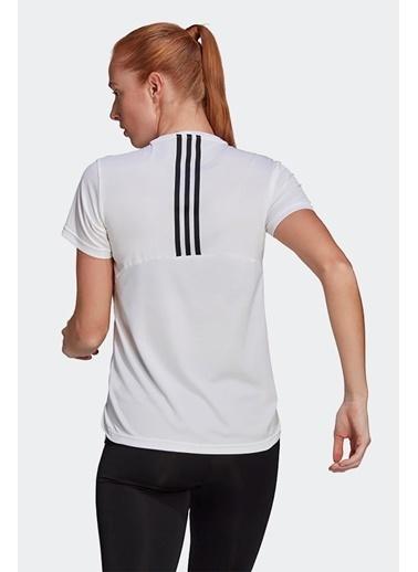 adidas Adidas Kadın Koşu - Yürüyüş T-Shirt W 3S T Gl3812 Beyaz